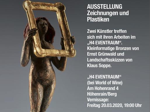 BERG / HÖHENRAIN, Ausstellung Grünwald / Soppe, März 2020