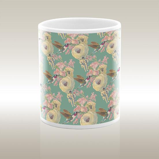Art-on-a-mug – Keramiktasse Minze