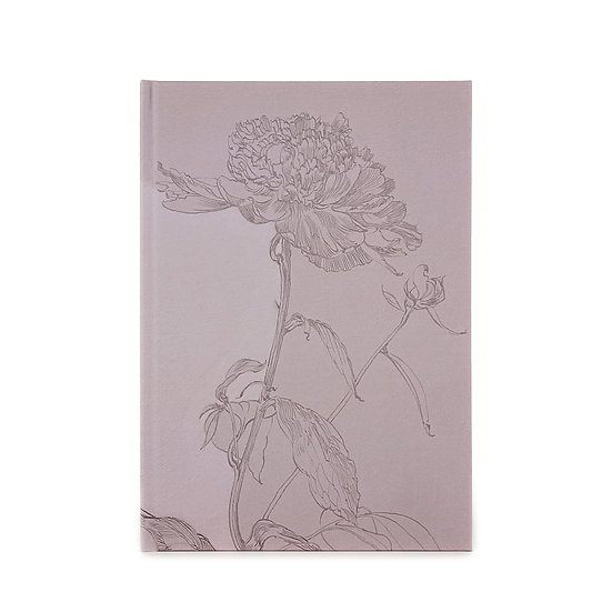Notizbuch / Skizzenbuch, A5, Rose