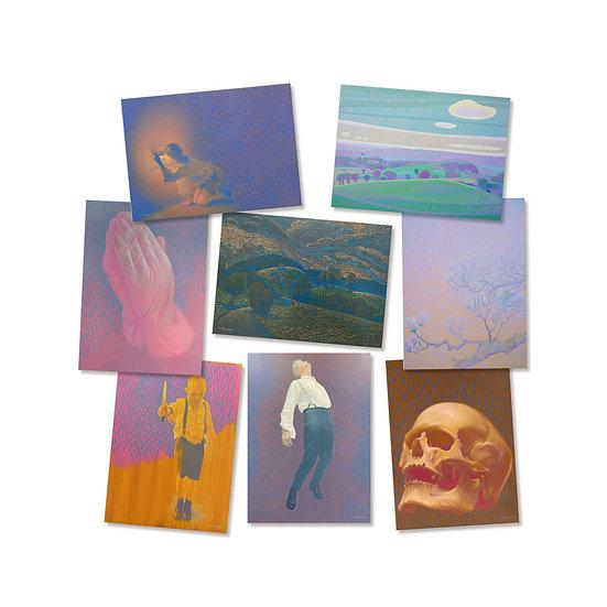 Postcard set, 10 different motifs