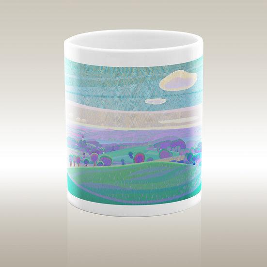 """Art-on-a-mug - Ceramic mug """"Starnberger See"""""""