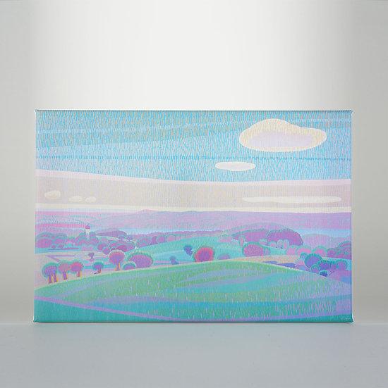 Gicléedruck auf Leinwand, 20 x 30 cm