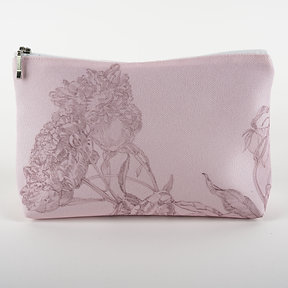 Cosmetic bag, rose
