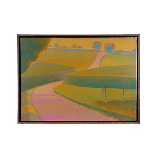 Original painting, 73 x 53 cm, including frame