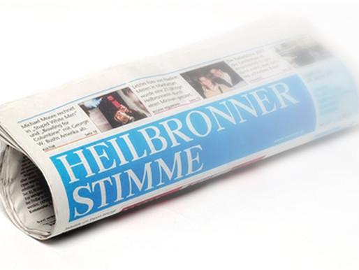 """Heilbronner Stimme vom 20. April 2019 zur Ausstellung """"Perspektive Realismus"""""""