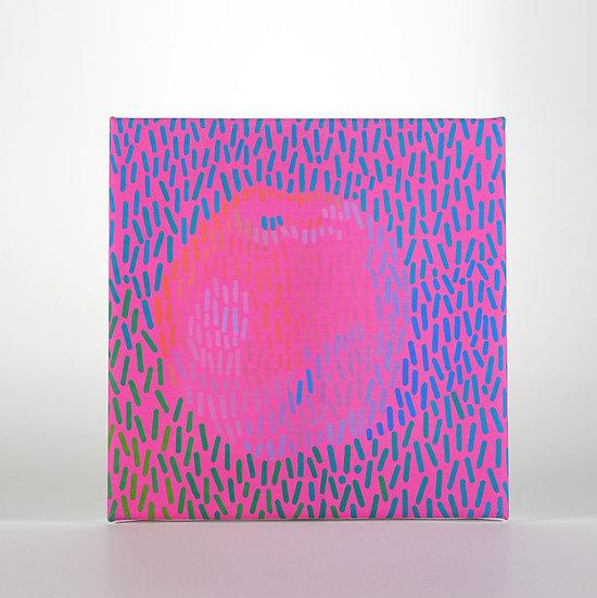 Gicléedruck auf Leinwand, 20 x 20 cm
