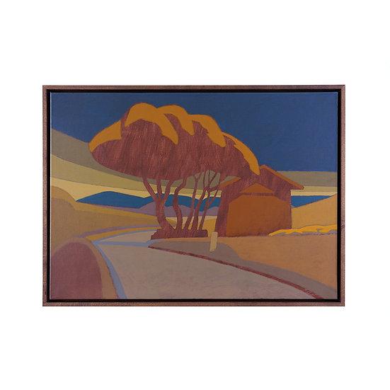 Originalmalerei, 73 x 53 cm, inkl. Rahmen