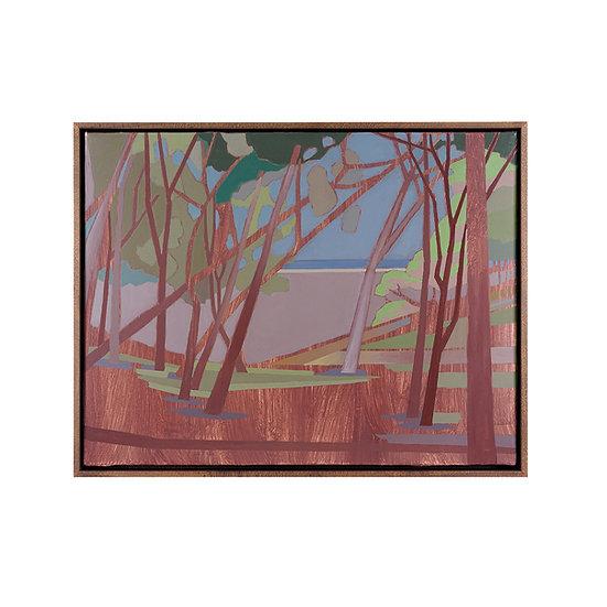 Original painting, 71 x 55 cm, including frame