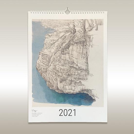 Jahreskalender 2021, DIN A3