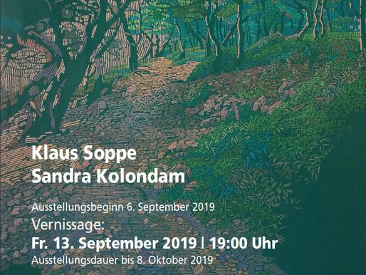 BERLIN, Ausstellung Kolondam / Soppe, September 2019