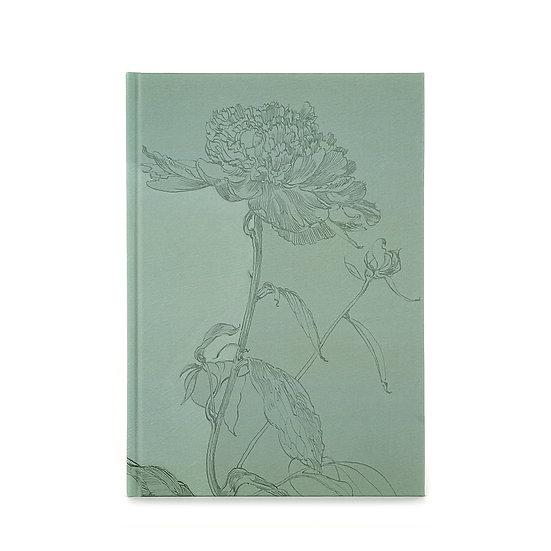 Notebook / sketchbook, A5, clover