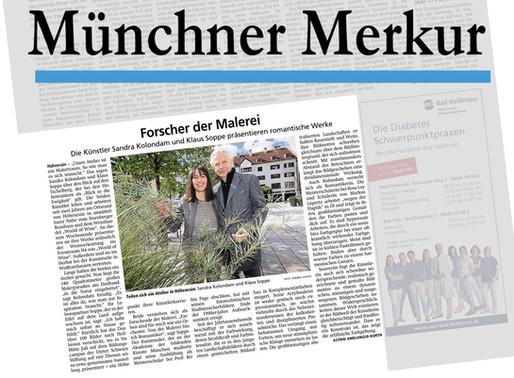 Presse MÜNCHNER MERKUR: Forschende der Malerei