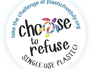 Plastic Free July challenge - Free Delivery on all our Water bottles in July