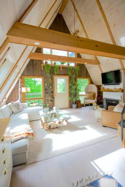 Moderne A-Frame Cabin