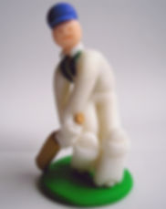 handmade figurine_cricket, batsman