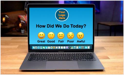 Feedback Survey Online Emojis