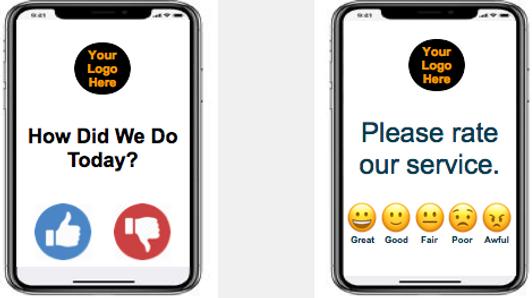 Feedback Survey Mobile Emojis