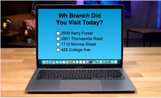 Feedback Survey OnLine Branch