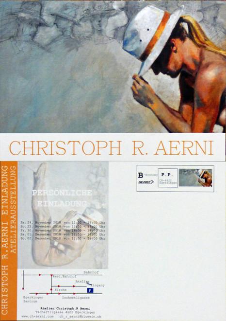 Atelierausstellung 24.11-2.12.18