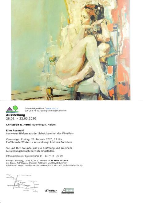 NäijereHuus Ausstellung 28.2-22.3.2020
