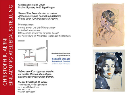 Atelier Ausstellung November 2020