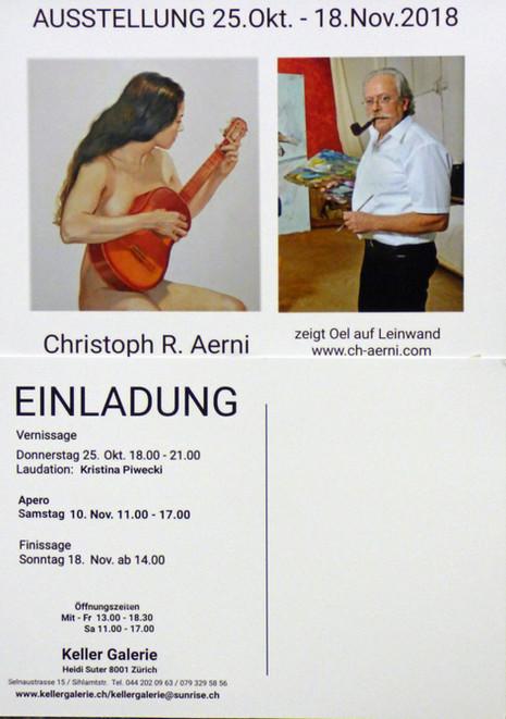 Ausstellung 25.Okt.-18.Nov.2018