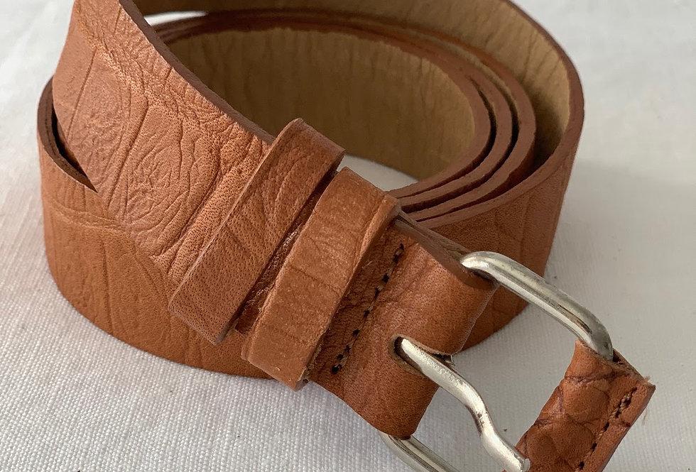 Cinturon Rolo Napa Croco