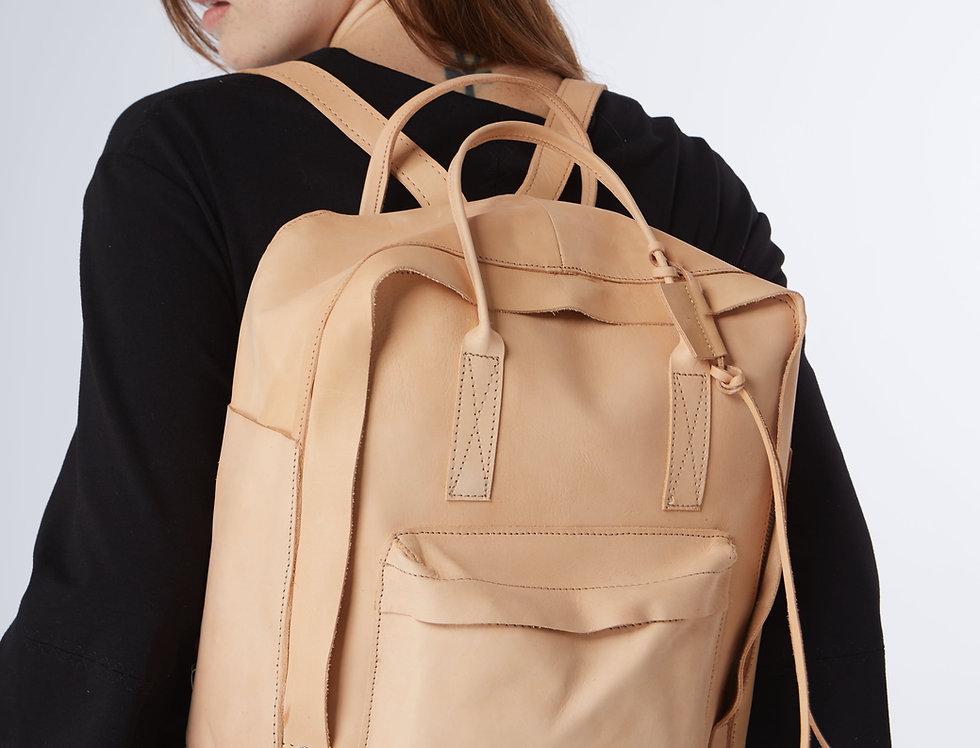 Backpack Manu Vaqueta Natural