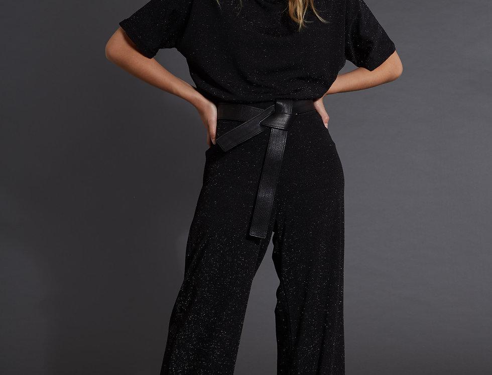 Pantalon Maria Lurex