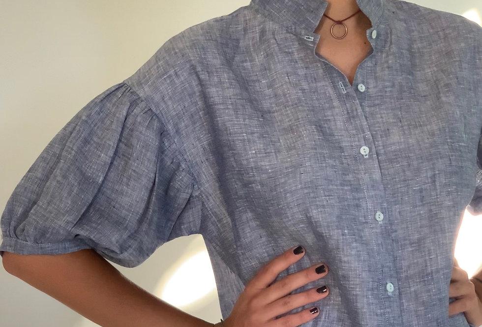 Camisa Balon Lino
