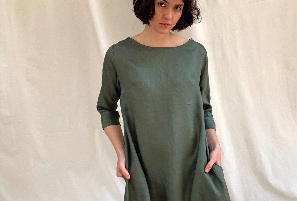 Vestido Florencia Lino