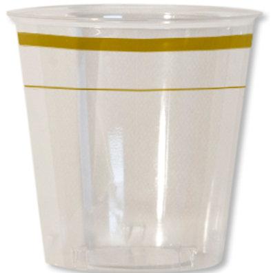 Bicchiere kristal 300cc CLASSIC GOLD Pz.8