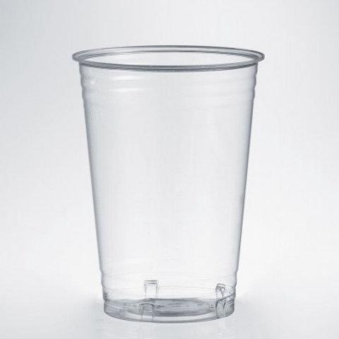 Bicchieri in PLA trasparenti 390cc compostabili Pz.50