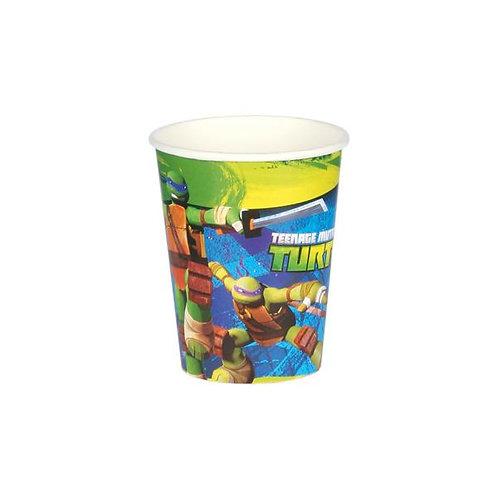 Bicchiere 200 ml TARTARUGHE NINJA Pz.8