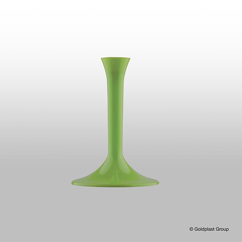 Gambo verde lime (per flute, calici, coppe) Pz.20
