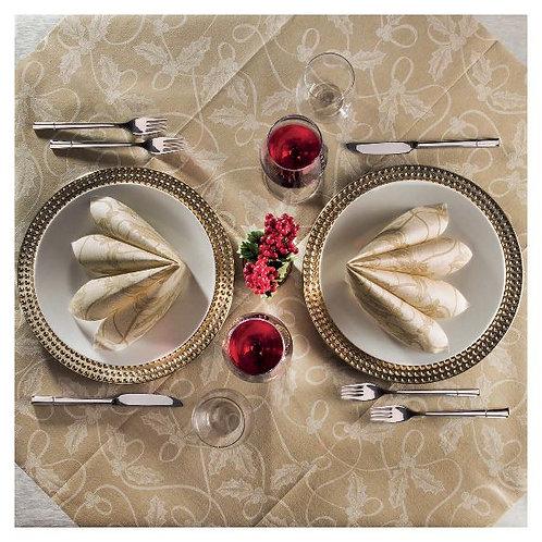 Table Set Holly Oro Airlaid (tovaglia 140x240 + 10 tovaglioli)
