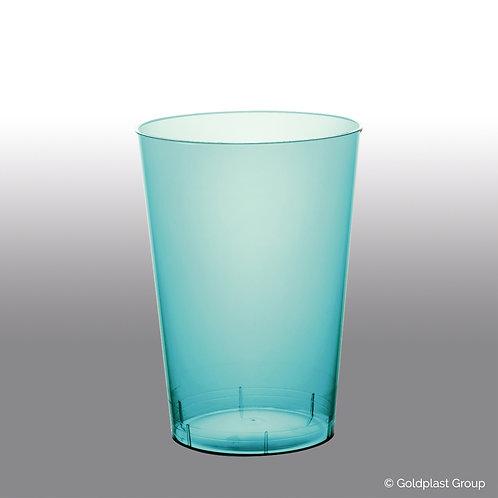 Bicchiere moon turchese trasparente ps 200cc Pz.10