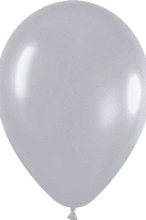 Blister 20 palloncini ARGENTO