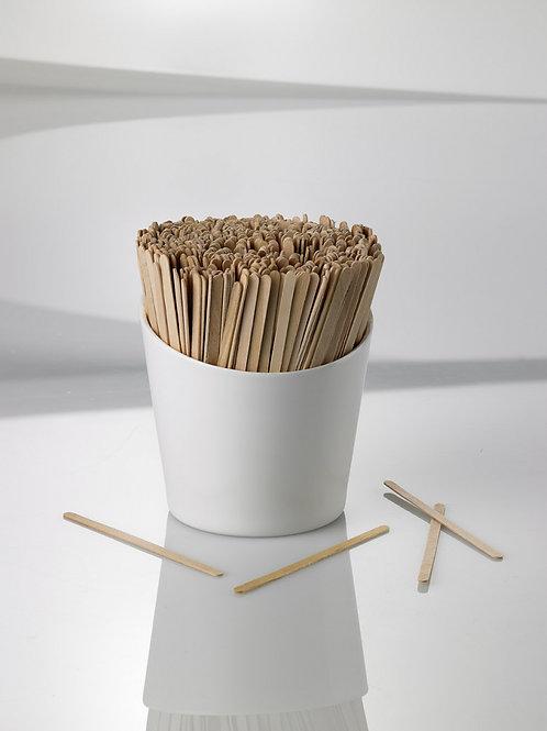 Palettine caffè in legno imbustate H. 9 cm.  Pz. 500
