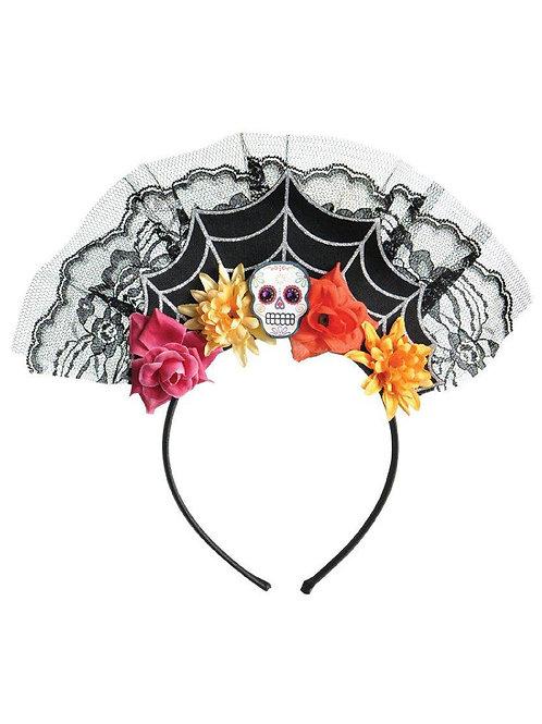 Tiara Dia de Los Muertos