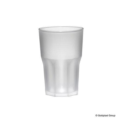 Bicchiere Granity trasparente Frost SAN 425cc infrangibile e riutilizzabile