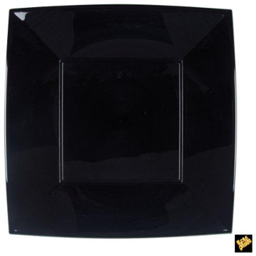 Piatto Nice maxi NERO PP 230mm Pz.6