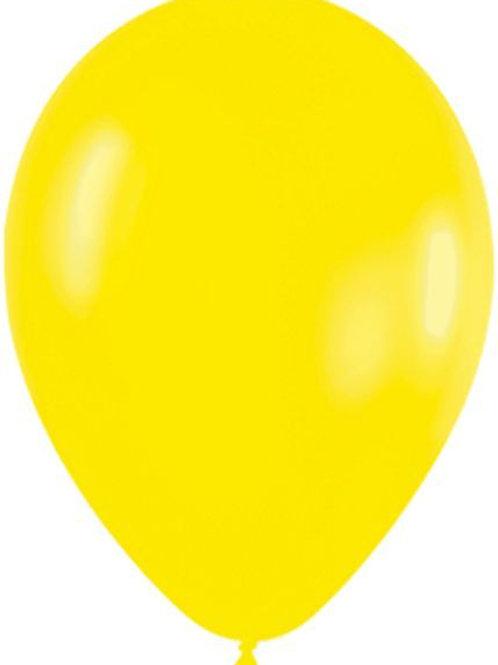 Blister 20 palloncini GIALLI