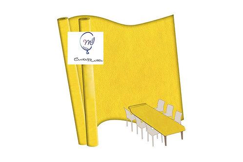 Tovaglia gialla in TNT rotolo - altezza 140cm x 7 mt.