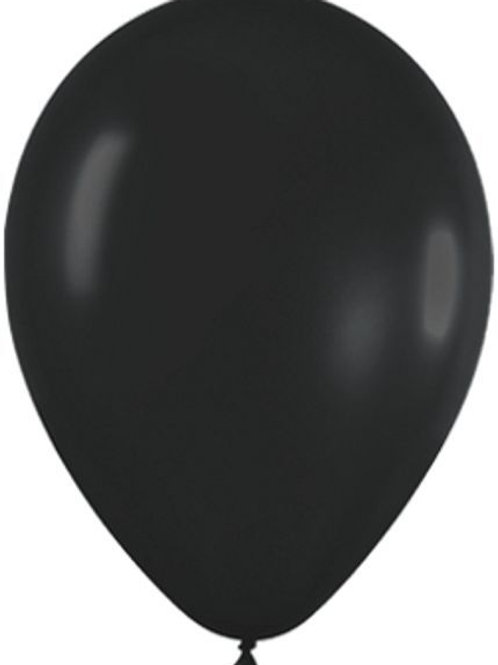 Blister 20 palloncini NERI