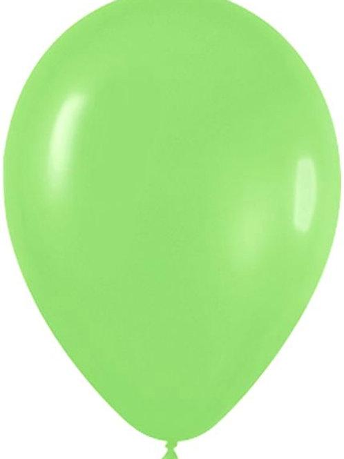 Blister 20 palloncini VERDE LIME