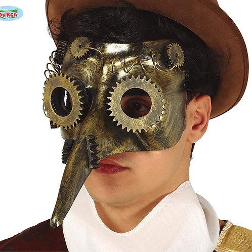 Maschera Peste Steampunk