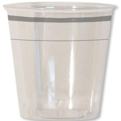 Bicchiere kristal 300cc CLASSIC SILVER Pz.8
