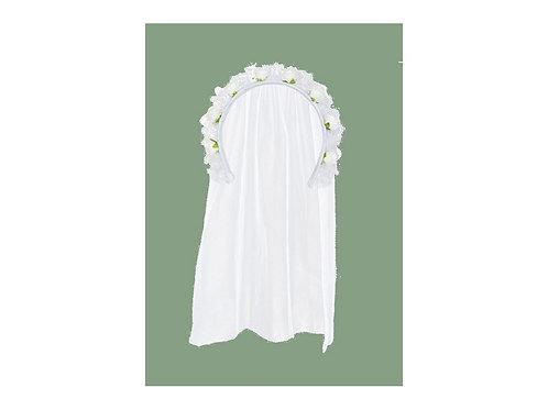 Tiara sposa con velo