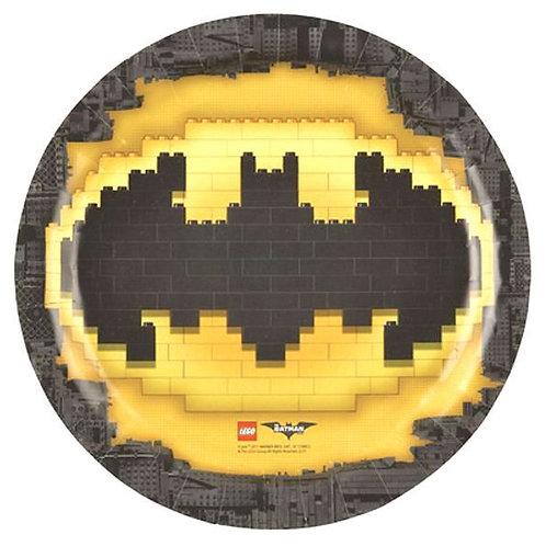 Piatti piani Cm.23 BATMAN LEGO Pz.8